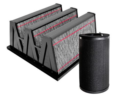 Aktivkohle-Filter Filtermaterial Filtersystem Filter