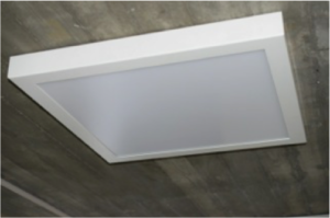 LED Umfeldbeleuchtung Panel Licht Adapterrahmen