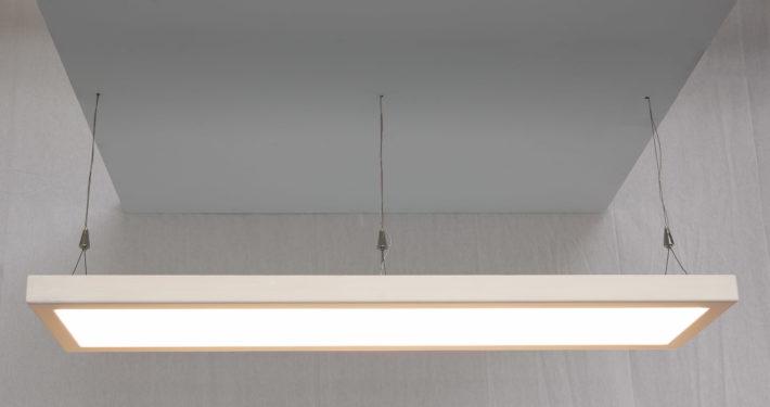 Pendelleuchte LED mit Holzrahmen Toggenburger-Holz Fichte