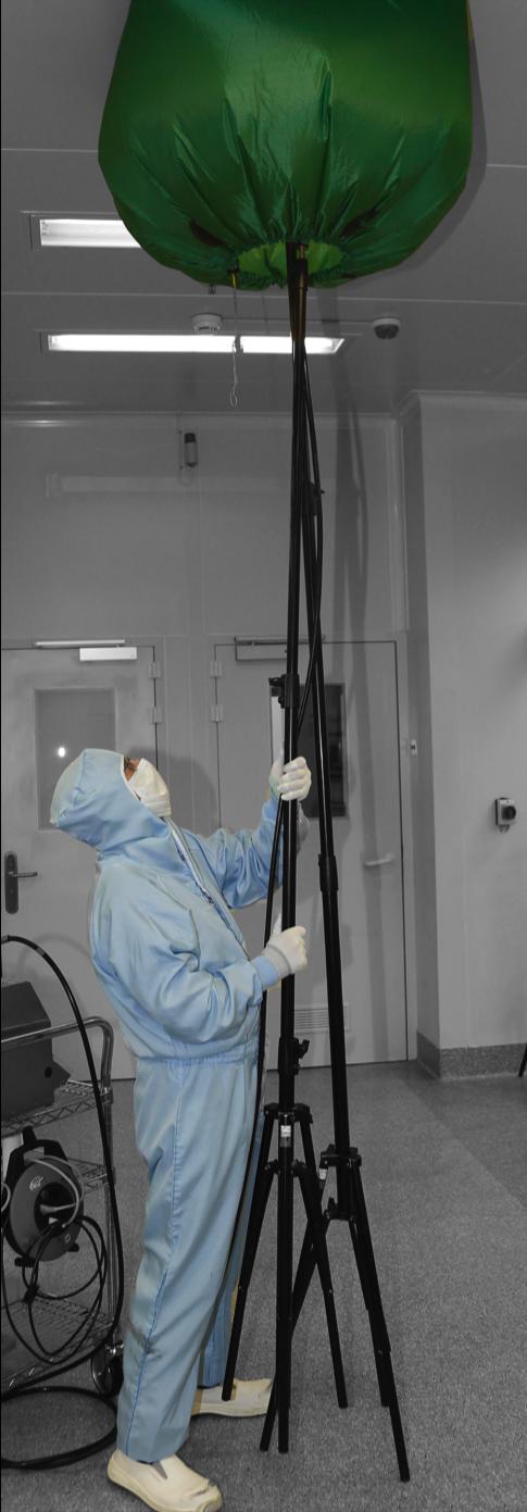 Qualifizierungstechnik Luftmessungen Partikelmessung