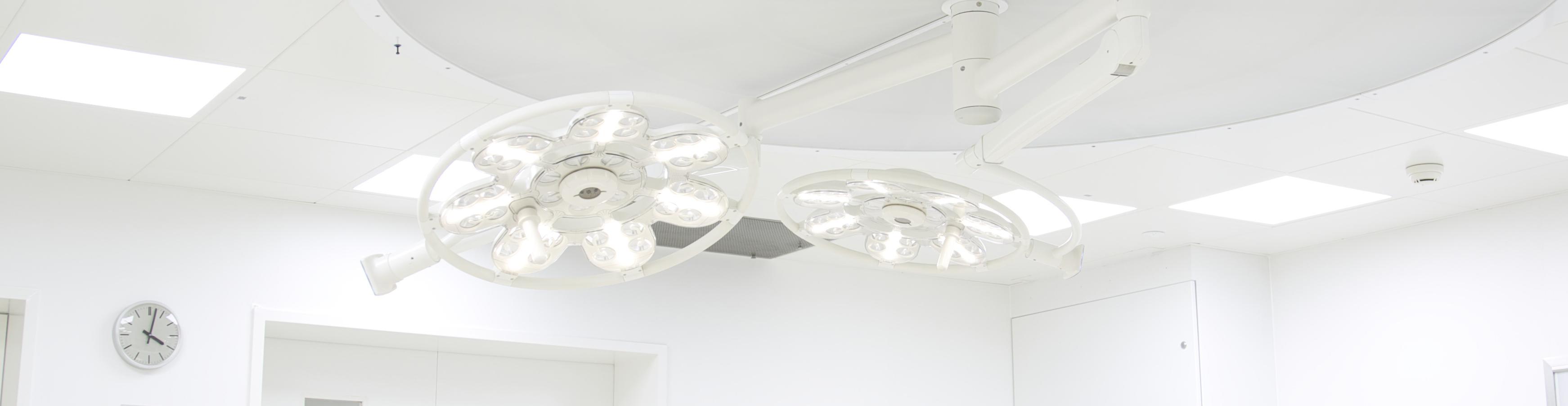 OP-Lampe OP-Leuchte Operationssaal-Beleuchtung