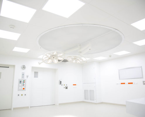 LED Leuchten im Operationssaal, OP, OPs, OP-Leuchte