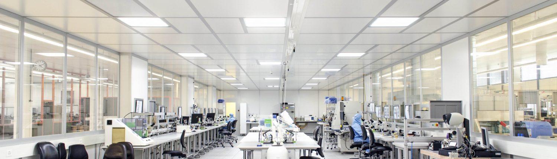Reinraum Beleuchtung LED Qualifizierung Messtechnik