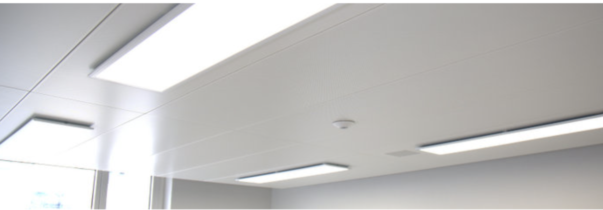 LED Leuchte Panel Schattenfuge