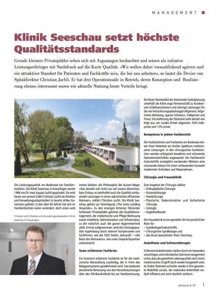 TQM hohe Qualitätsstandards