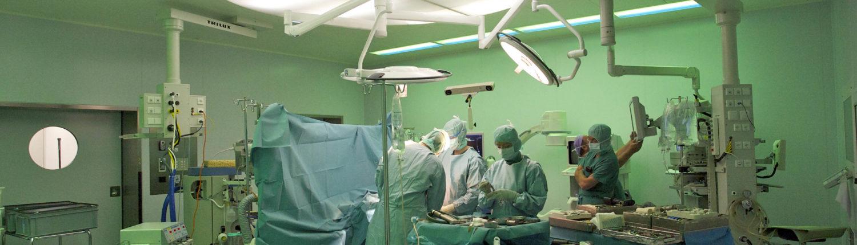 SLV Sterilluftverteiler Qualifizierung Operationssaal